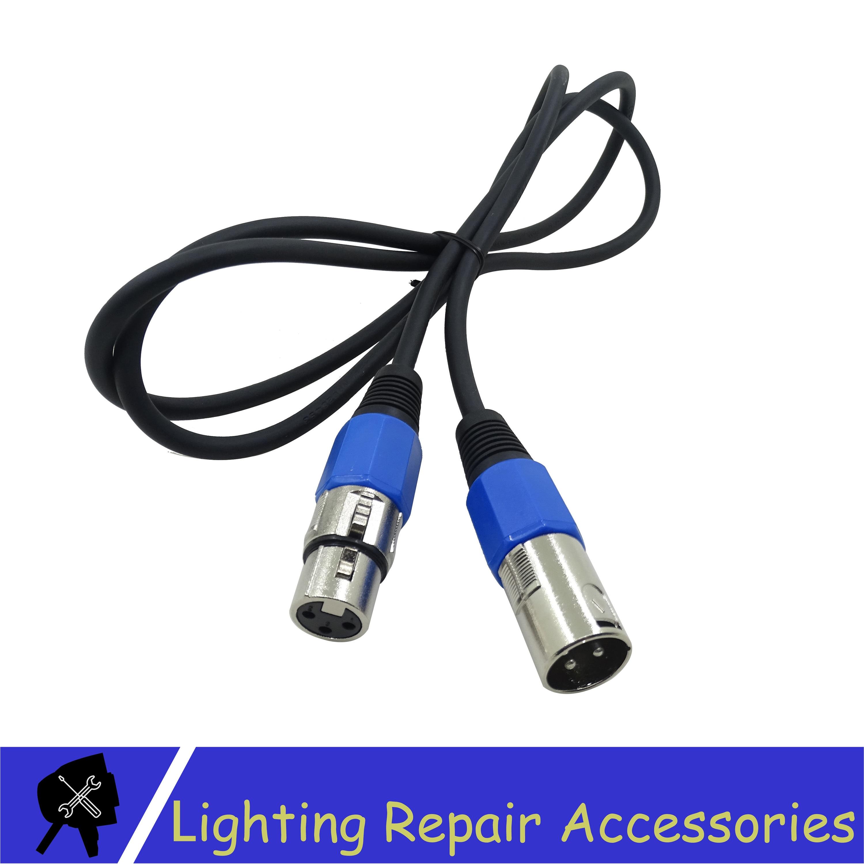 3-PIN DMX Signal Line 1M/5M/10M/15M/20M DMX Cable Used For Led Par Stage Lights Equipment