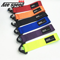 Ace speed-Tow Strap Universal 24cm High Quality Racing Car Tow Strap Ropes/Hook/Towing Bars (Red Blue Purple Orange Black Green)