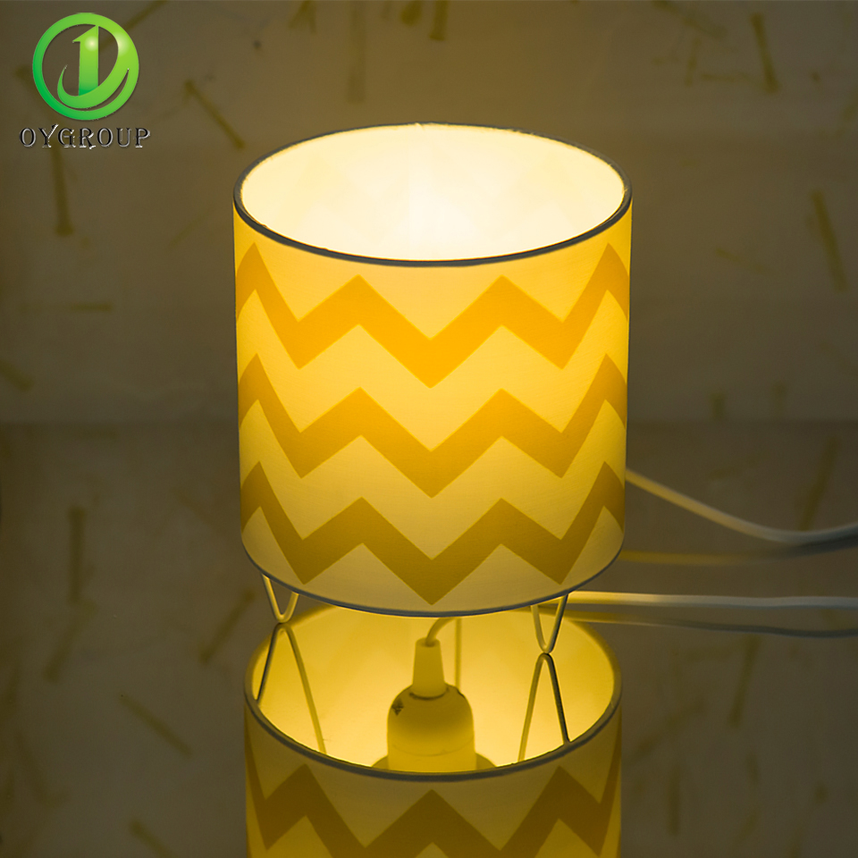 Circular Base Lighting Cloth Lamps Shade Circular Base