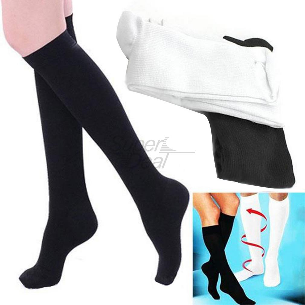 2017 Comfortable Relief Soft Unisex Miracle Socks Anti-Fatigue Compression Stockings Soothe Tired Legs