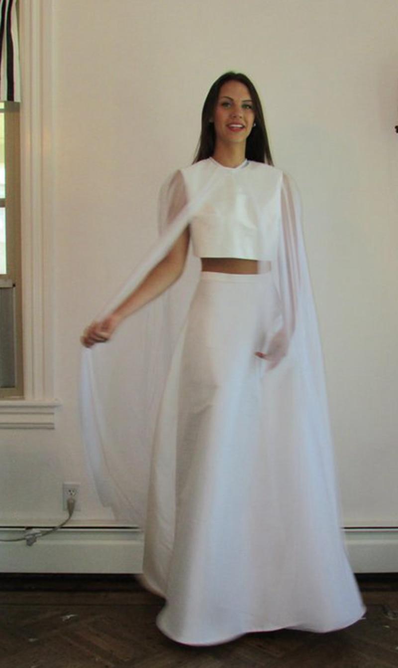 Wedding Cape - Bridal Cape Veil - Wedding Bolero-  , Wedding Cape Veil, Modern Veil, Bridal Shawl Wedding Top Wedding Shawl
