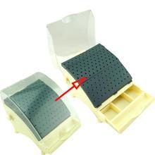 Dental Bur Holder 142 Burs Blockstation mit herausziehbarer Schublade