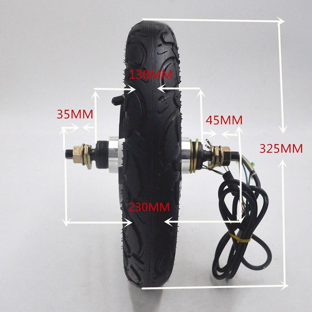 Electric Bicycle bike ebike Motor 24V 36V 48V 350W Brushless Hub Motor for e bike escooter