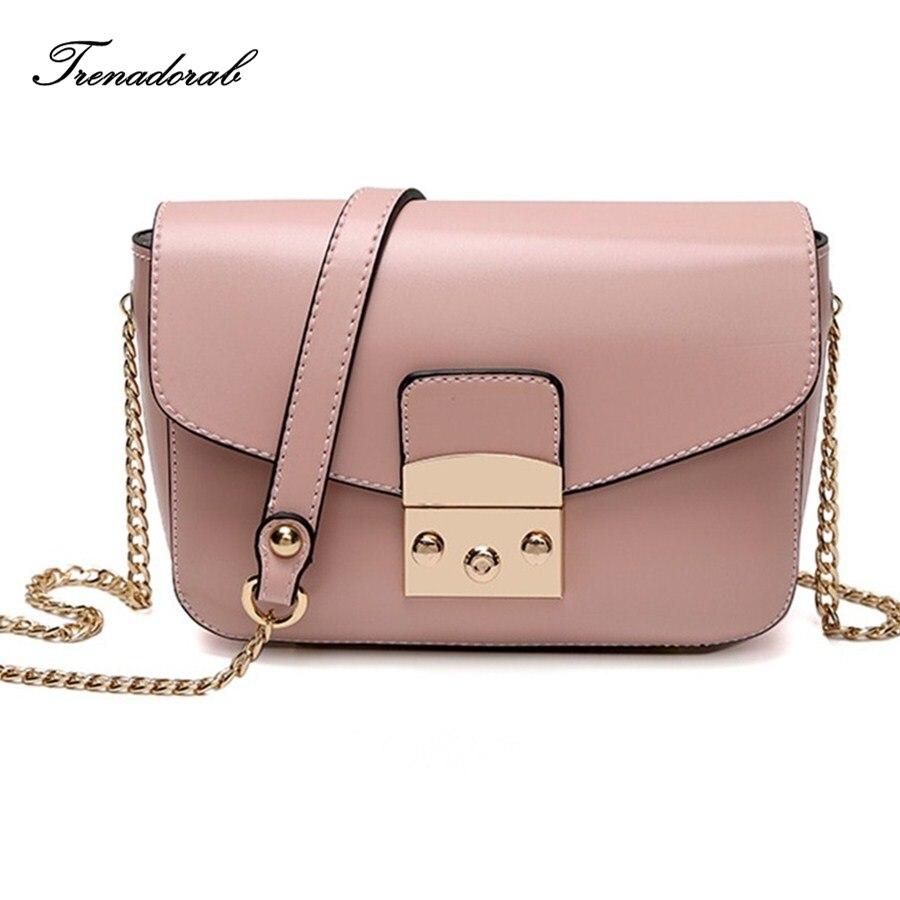 Fashion Women Small Bags Candy Color Leather Women Crossbody Bag Famous Brand Ladies Messenger Shoulder Bag Clutch Purse 2018