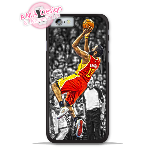James Harden Basketball Phone Cover Case For Apple iPhone X 8 7 6 6s Plus 5 5s SE 5c 4 4s For iPod Touch