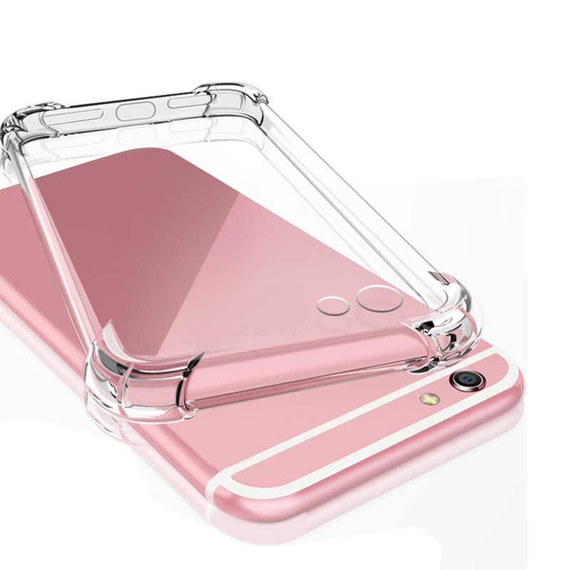 Shockproof Clear Soft Case For Huawei Honor V20 8A 8X 10 9 Lite 9i V9 7X 6A Play Y7 Pro Y9 2019 Y5 2018 Y3 2017 y3 y5 y6 2 Cases
