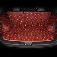 Пользовательские багажник автомобиля Коврики для Audi A6L Q3 Q5 Q7 S4 A5 A1 A2 A3 A4 B6 B8 b7 A6 c5 c6 A7 A8 автомобильные Аксессуары Укладка подушки ствол площадк