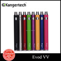 Original kanger evod batería giro evod cigarrillo electrónico de voltaje variable batería vv evod batería vv