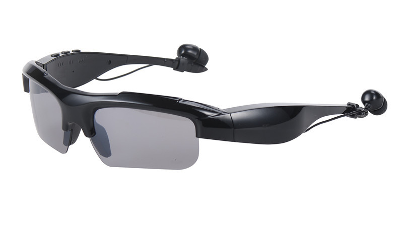 Sports Glasses Stereo Wireless Bluetooth 4.0 Polarized Driving Sunglasses mp3 Music handsfree earphone Riding Eyewear Glasses bluetooth wireless sunglasses w earphone polarized glasses for iphone samsung android ios smartphones black a pair of earphones