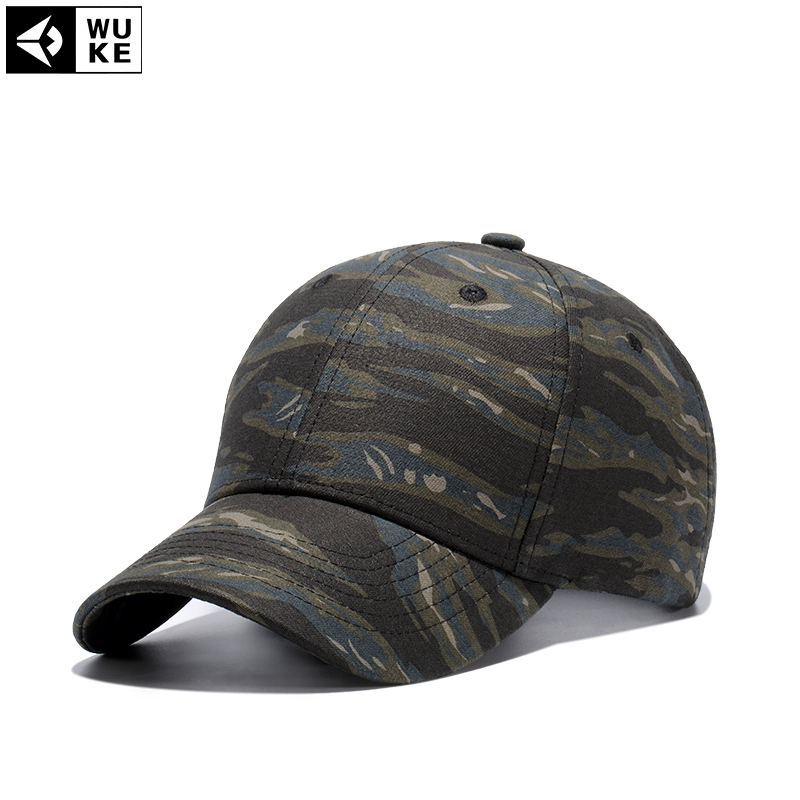 57957f07aac Wuke Summer Cap 4 Color Men s Snapback Camouflage Tactical Hat Army  Tactical Baseball Cap Camouflage Caps Sun Hat Golf Hats-in Baseball Caps  from Apparel ...