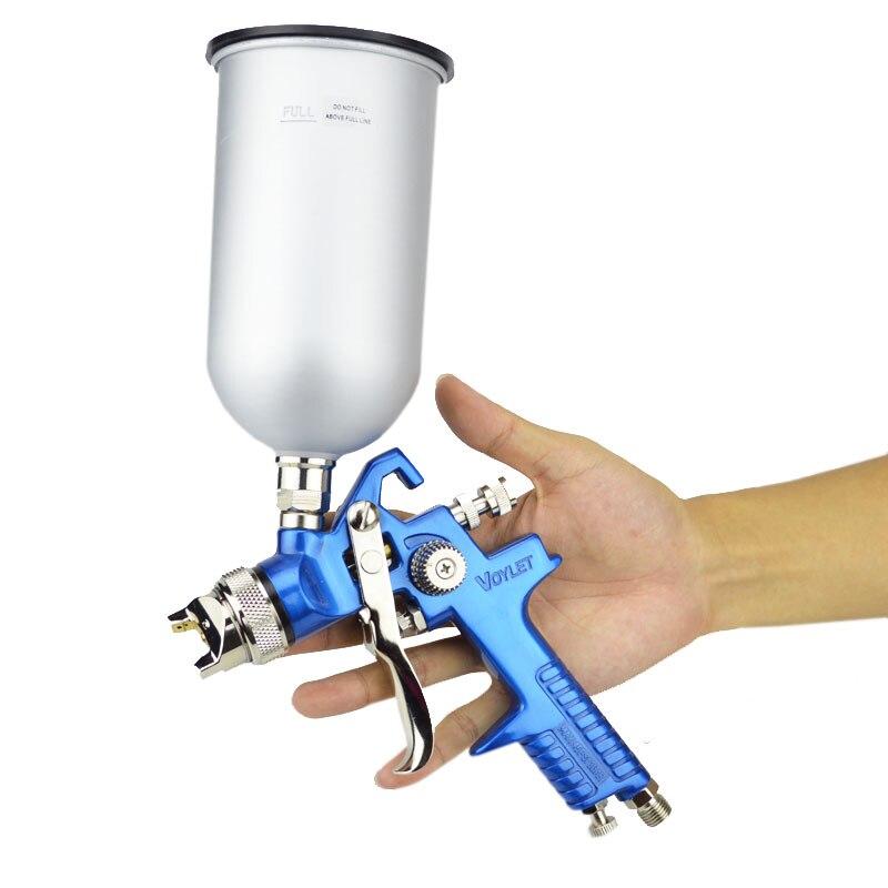 Voylet Hvlp Pistolet à Alimentation Par Gravité 1 7mm En