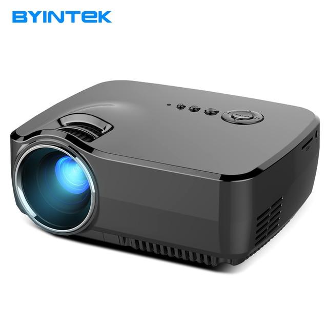 BYINTEK GP70 AM01 USB Video Game 1080P HD Home Theater LCD HDMI USB Portable LED Mini Projector Projetor Beamer