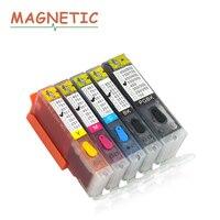 5pcs PGI550 Refillable Ink Cartridge For CANON MG5450 MG5550 MG6450 Ip7250 MX925 MX725 IX6850 Pgi 550