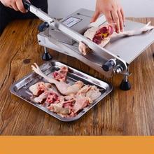Ручная Толстая нарезка нарезки кубиками из нержавеющей стали, нарезка курицы и утки, гусиная нарезка, машина для нарезки замороженного мяса
