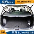 Para Mitsubishi Outlander 2013 2014 2015 Rear Carga Trunk Capa privacidade Tela Escudo de Segurança sombra (Preto, bege)