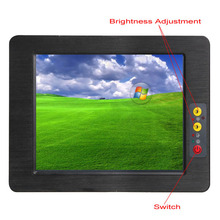 New arrival 10.4 inch fanless all in one Industrial Panel PC with D2550 1.86G CPU brightness adjustable