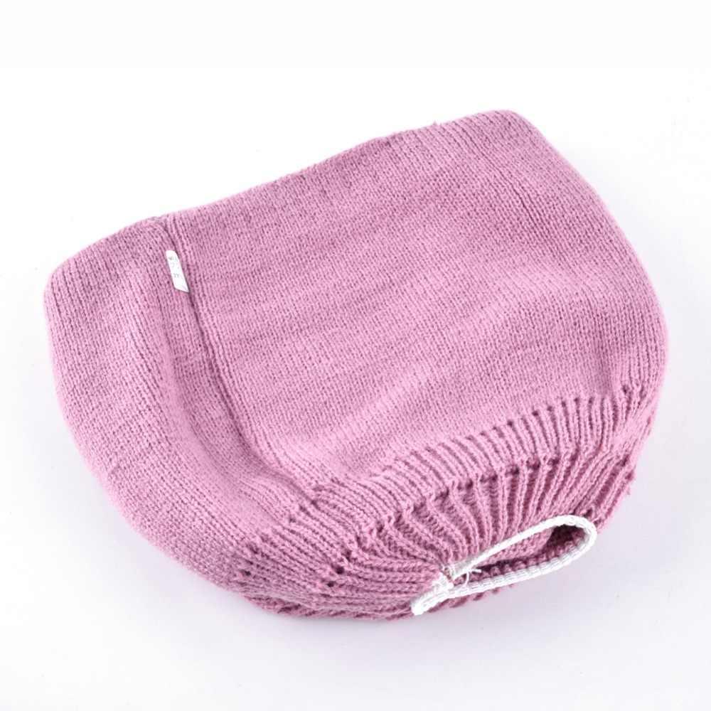 女の子ラインストーンビーニーキャップ女性の冬ニット帽子 skullies ビーニー帽子女性蝶キャップ gorro feminino