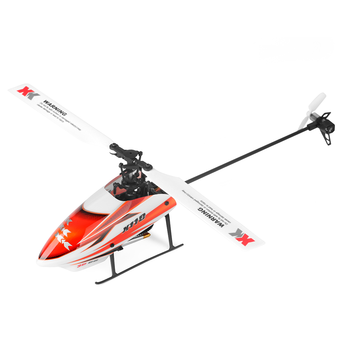Surwish XK K110 2.4G 6CH Single-blade Brushless RC Helicopter Drone with 3D Upside Down Flight Stunt metal silver tail motor group for wltoys xk k110 rc drone helicopter parts
