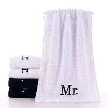 где купить 30X70CM 2PCS Couple Face Towel Cotton Terry Towels Home Use Love Towel Mr&Ms Towel For Bathroom Hair Towel Shower Quick Drying по лучшей цене