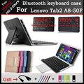 Универсальный Bluetooth Keyboard Case Для Lenovo Tab2 A8-50F 8 Дюймов Tablet, Bluetooth клавиатура с тачпадом для Tab2 A8-50F/LC