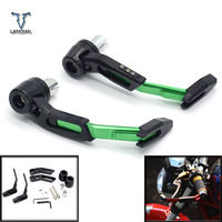 7/8CNC Motorcycle Proguard System Brake Clutch Levers Protect Guard For Kawasaki w800/se z750s ZX 6 ZX9R zxr 400 versys 650 cc