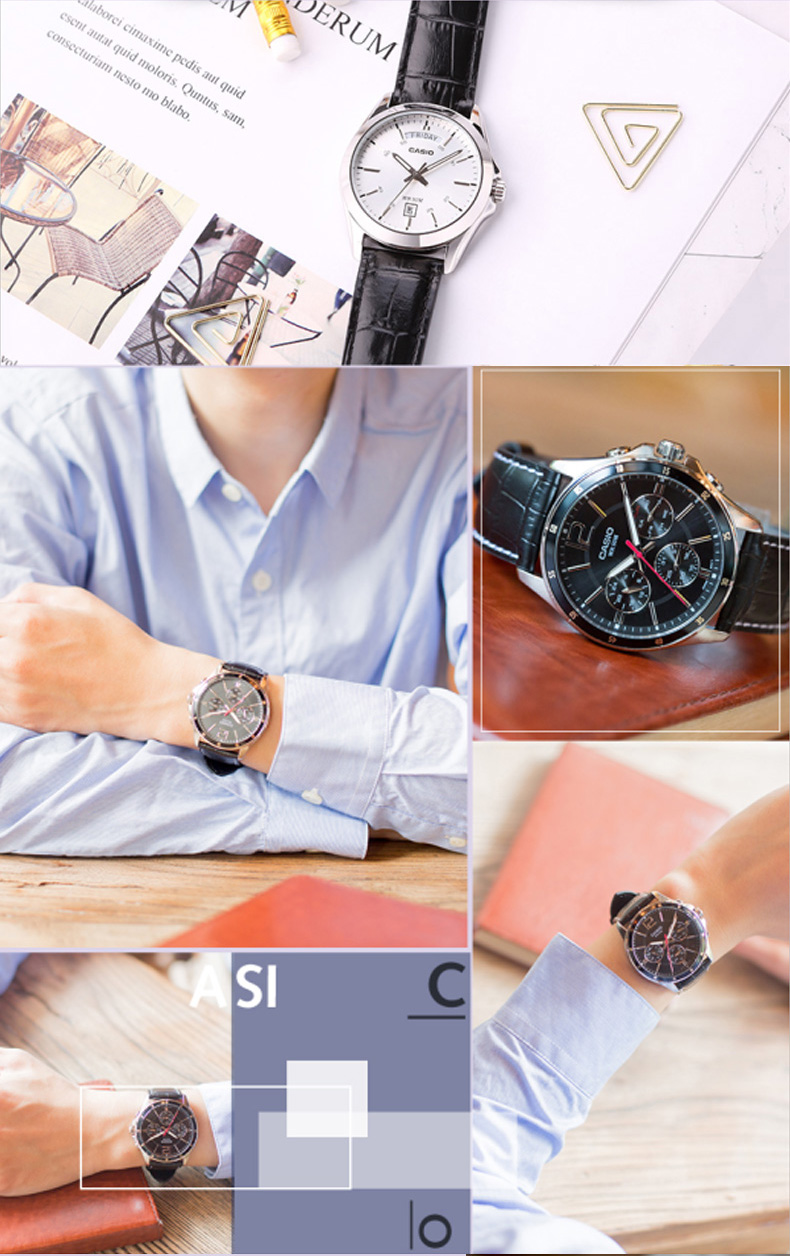 CASIO Casual Wrist Watch for Men - MT Series | Dukesman.com