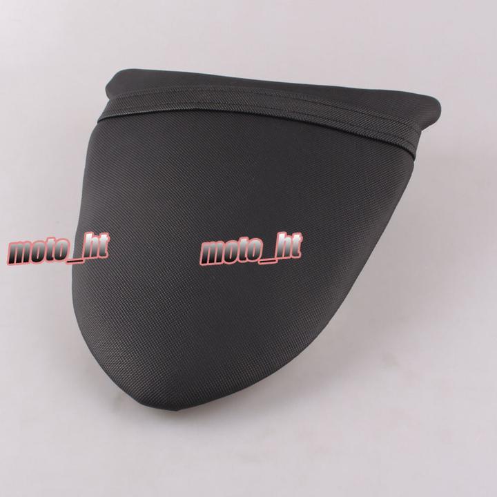 GZYF Rear Back Passenger Seat Pillion Cushion For KAWASAKI Ninja ZX6R 636 2005-2006 & ZX10R 2006 2007 Black