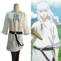 Berserk Griffith Christmas Halloween Uniform Outfit Cosplay Costume Customize Any Size