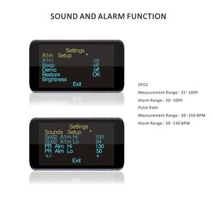 Image 4 - PRCMISEMED Household Health Monitors Heart Rate Monitor Finger Medical Oxygen SPO2 Pulse Oximeter Finger Meter Sky Blue