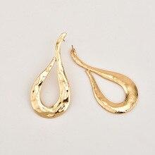 RONGBIN Brand Gold Large Metallic Geometry Earrings for Women Fashion Irregular Big Earrings Jewelry 2018 Brincos Female Earring