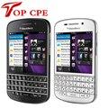 Горячие продажи 100% оригинальный Blackberry Q10 мобильный телефон 3 Г 4 Г Сети 8.0MP двухъядерный 1.5 ГГц 2 Г ОЗУ + 16 Г ROM Бесплатная доставка