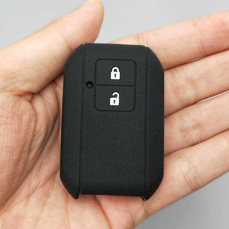 Suzuki için yenİ swift 2017 vagon R japon tekel tipi 3c 3 düğme uzaktan silikon kauçuk araba anahtarlık kapak kılıf kabuk korumak