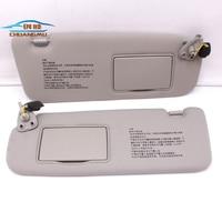 CHUANGMU For HYUNDAI sonata NF NFC Sun visor Sunshade assembly 85201 0R300X6 85202 0R300X6 gray