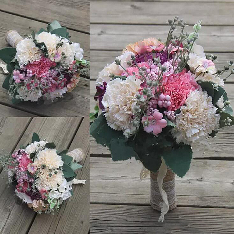 Mazzo Di Fiori The West.Dreamyunz Offerte Splendida Wedding Bouquet Di Fiori Da Sposa