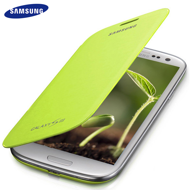 Samsung Galaxy S3 Case Flip i9300 SIII Cover Ultra Thin PU Silicone Leather Luxury Protective Bag Flip Cases 100% Original
