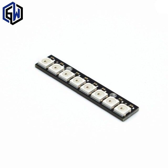 TENSTAR ROBOT 8 channel WS2812 5050 RGB LED lights built-in full color-driven development board