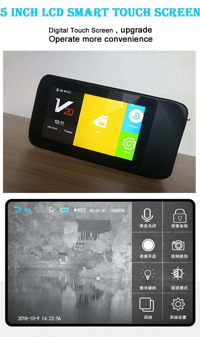 Mais recente novo design hd digital visão