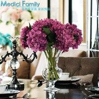 946 искусственные цветы готовой продукции бойер шелковый цветок мечта калина свет кружка высокий ваза комплект