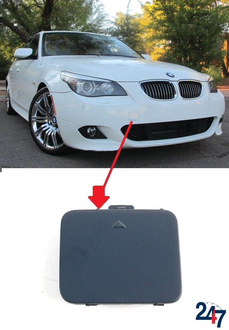 Front Bumper Tow Hook Eye Cap Cover For BMW 5-Series E60 E61 528i 528xi 535i