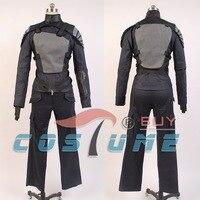 משחקי רעב קטניס Everdeen חלק 1 מכנסיים העליונים כפפת תלבושת ליל כל הקדושים Cosplay תלבושות