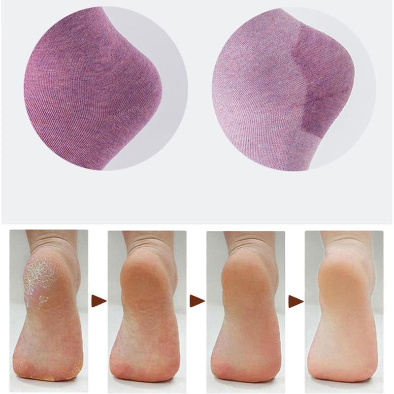 New 1 Pair Winter Cracked Heel Gel Socks Moisturizing Silicone Baby Skin Care Anti-slip Maintenance Foot Spa Tools
