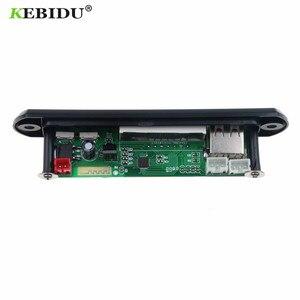 Image 2 - KEBIDU 5V 12V Bluetooth MP3 WMA FM AUX décodeur Module Audio FM TF Radio Automobile voiture MP3 haut parleur accessoires pour voiture