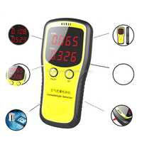 Portable LCD Digital Dioxide Meter CO2 Monitor Indoor Air Quality Formaldehyde Detector My29 19 Dropship