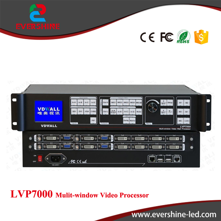 VDWALL LVP7000(LVP8601) Multi-Windows Sync Stitcher LED Video Processor,Professional Processor for Small Pixel Pitch LED Screen hohner easy stitcher
