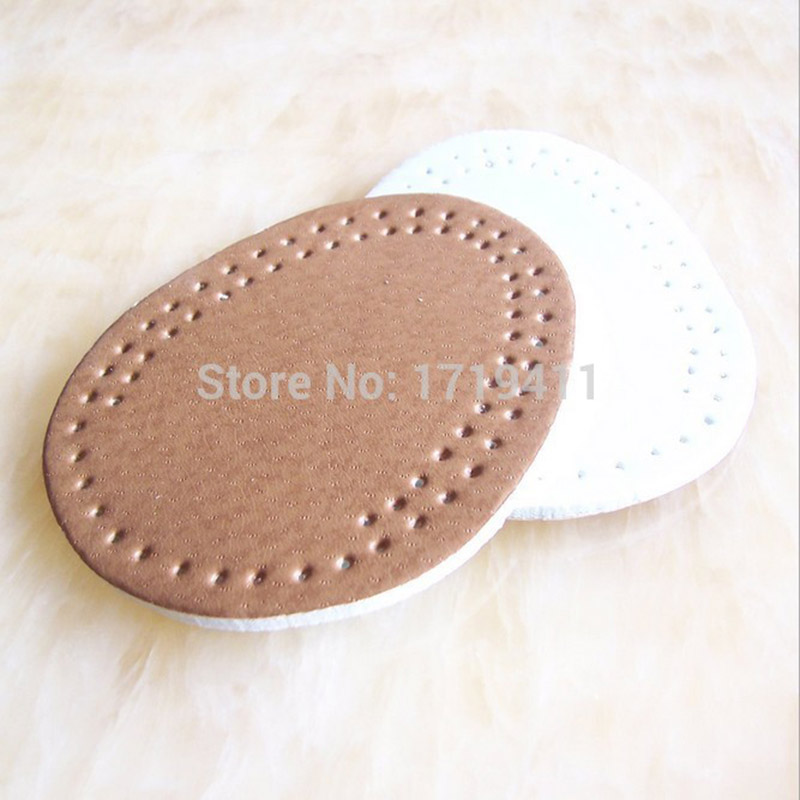 5 Pairs Fake Leather Gel Silicone Shoe pad Insoles women's high heel Cushion Protect Comfy Feet Palm Care Pads jup 1 pair genuine leather gel silicone shoe pad insoles women s high heel cushion protect comfy feet palm care pads foot wear