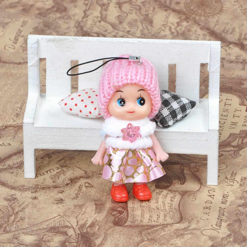 Mini atacado Animais De Pelúcia Chave Da Cadeia de Moda Bonito Crianças Bonecos de Pelúcia Brinquedos Chaveiro Chaveiro de Pelúcia Macia Do Bebê para Meninas Mulheres