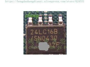 Punto Caliente 10 unids/lote 24LC16B 24LC168 nuevo original en stock (logística puede realizar un seguimiento)