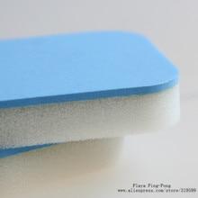 1x резиновый очиститель для настольного тенниса губка для мытья губка для настольного тенниса резиновая