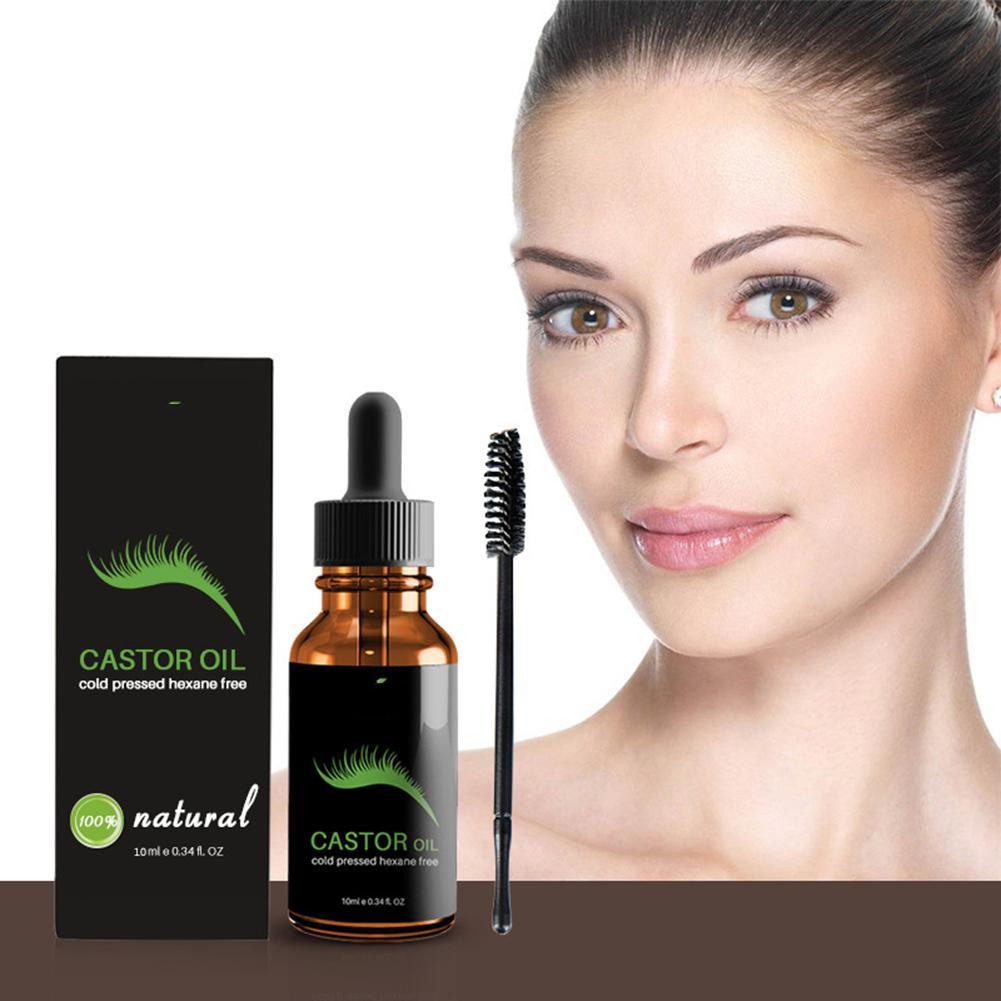 10ml Eyelash Eyebrow Growth Enhancer Castor Oil ...