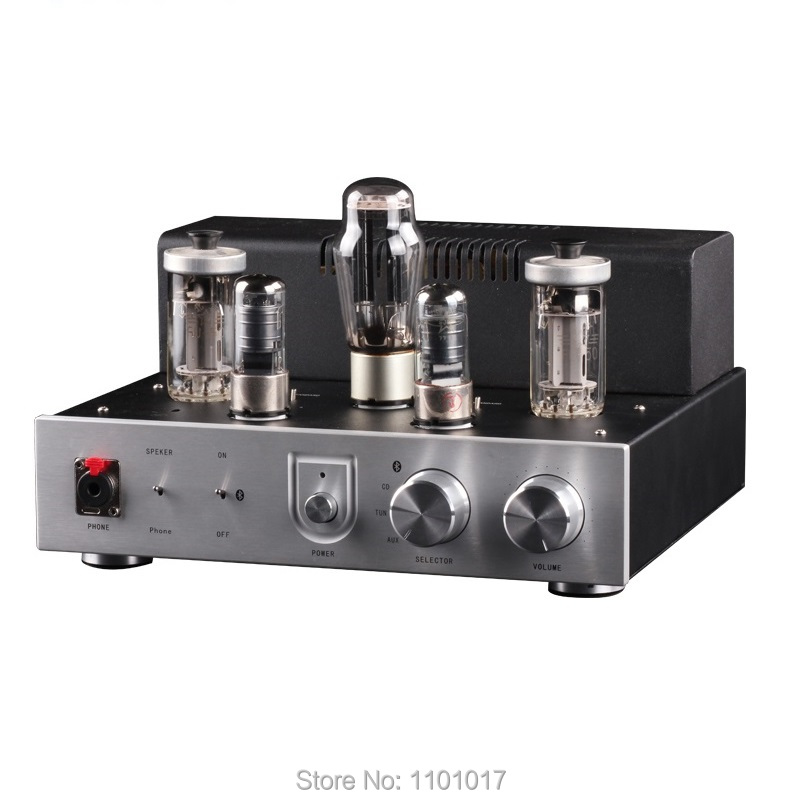 HIMING RIVALS FU50 Bluetooth tube amplifier Headphone amp HIFI EXQUIS Signal-ended lamp amps FU-50 luxury version la figaro headphone amplifier tube amplifier 2013 upgrade version